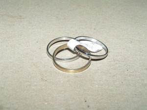 3 For 1 Stainless Steel Band Rings Free Shipping