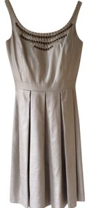 Antonio Melani short dress Taupe on Tradesy