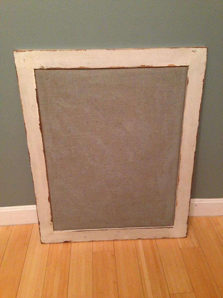 Wooden Ships Antique Off-white and Gray Frame with Burlap Reception ...