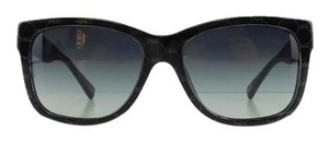 Dolce&Gabbana New Dolce & Gabbana DG 4158P 2659/8G Black Acetate Gradient Full-Frame Sunglasses 55mm