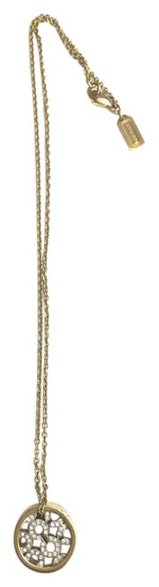 Item - Yellow Gold Logo Necklace