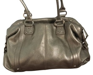Tignanello Leather Metallic Shoulder Bag