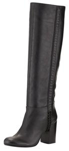 Vince Camuto Leather Black (Nero) Boots