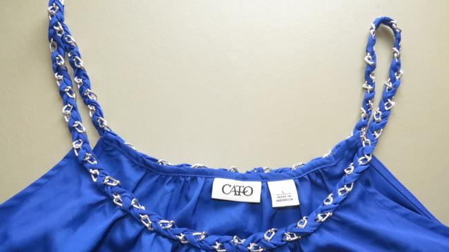 Cato Link Chain Top ROYAL BLUE