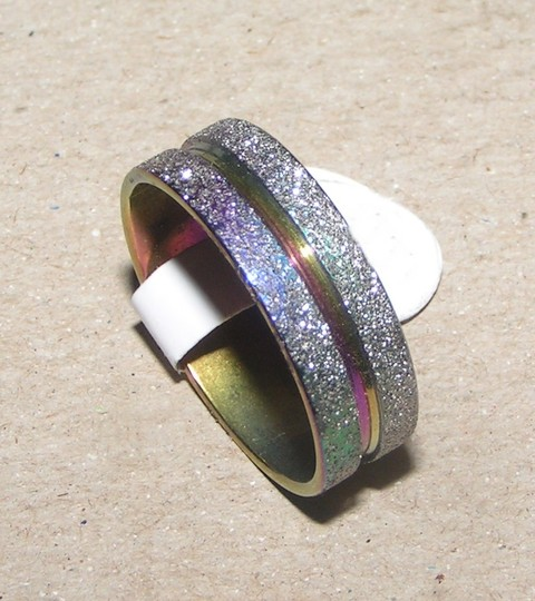 Multi Colored Mix and Match Bogo Free Rainbow Stainless Steel Free Shipping Ring