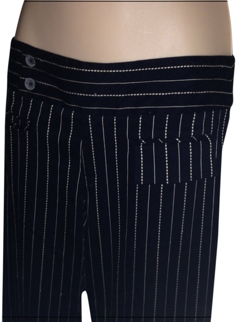 Preload https://item2.tradesy.com/images/nanette-lepore-black-embroidered-stripes-stretch-straight-leg-pants-size-6-s-28-895906-0-0.jpg?width=400&height=650