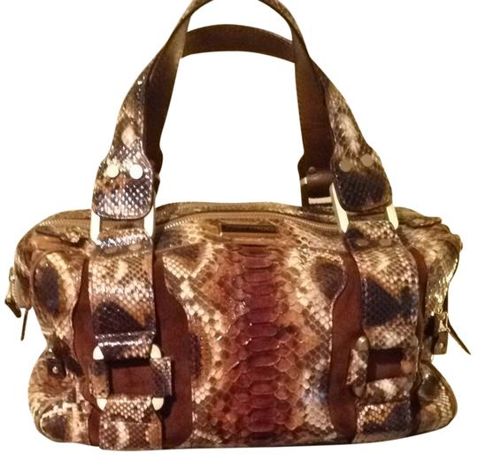 Preload https://item2.tradesy.com/images/jimmy-choo-jungle-brown-and-tan-tote-895966-0-0.jpg?width=440&height=440