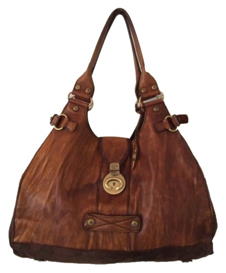 Preload https://img-static.tradesy.com/item/8960416/francesco-biasia-brown-leather-shoulder-bag-0-1-540-540.jpg