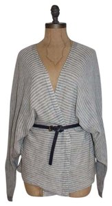 Anthropologie Striped Kimono Sweater M Cardigan