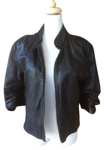Mike & Chris Leather & Leather Jacket