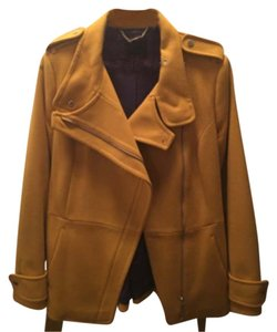 Ted Baker Mustard Leather Jacket
