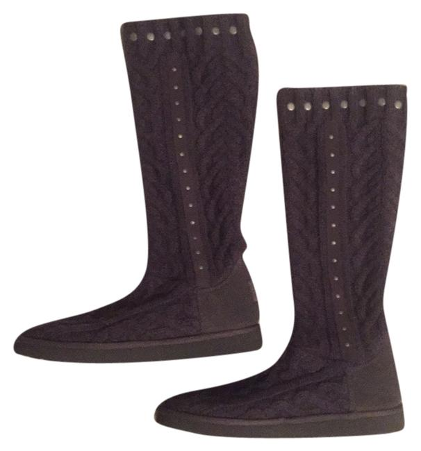 Item - Charcoal Grey Boots/Booties Size US 7 Wide (C, D)