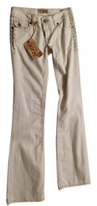 MEK DNM Straight Leg Jeans-Light Wash
