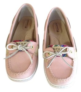 Sperry Pink Mules
