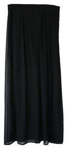 The Limited Sheer Maxi Maxi Skirt Black