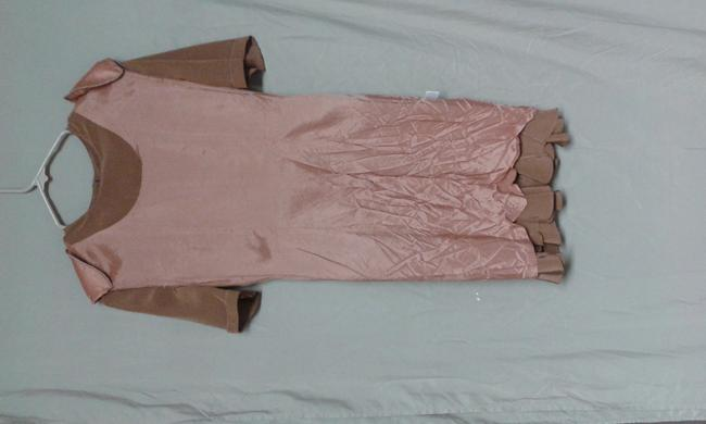 INC International Concepts short dress BROWN on Tradesy