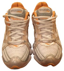 Saucony White and orange Athletic
