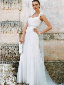 David's Bridal David's Bridal Vintage Style Wedding Gown Wedding Dress