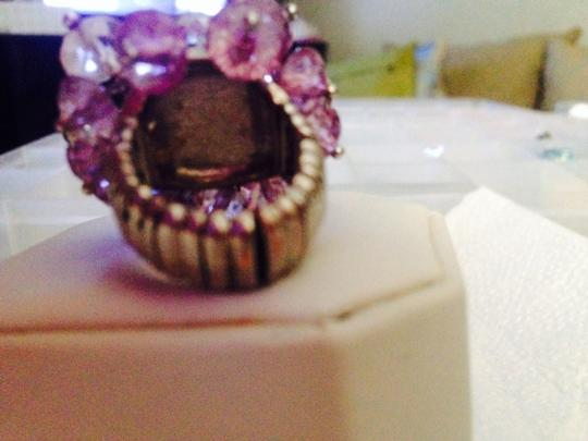 New York & Company New York & Co Purple & Clear Ring
