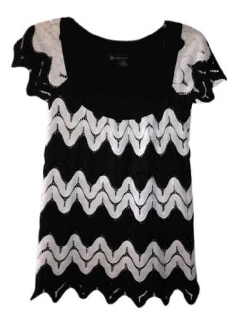 Preload https://item1.tradesy.com/images/inc-international-concepts-blackwhite-and-lace-blouse-size-4-s-8965-0-0.jpg?width=400&height=650
