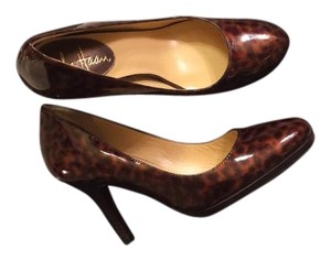 Cole Haan Cheetah Print Patent Leather Pumps