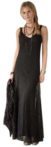 Ralph Lauren Lace Cotton Silk Evening Dress