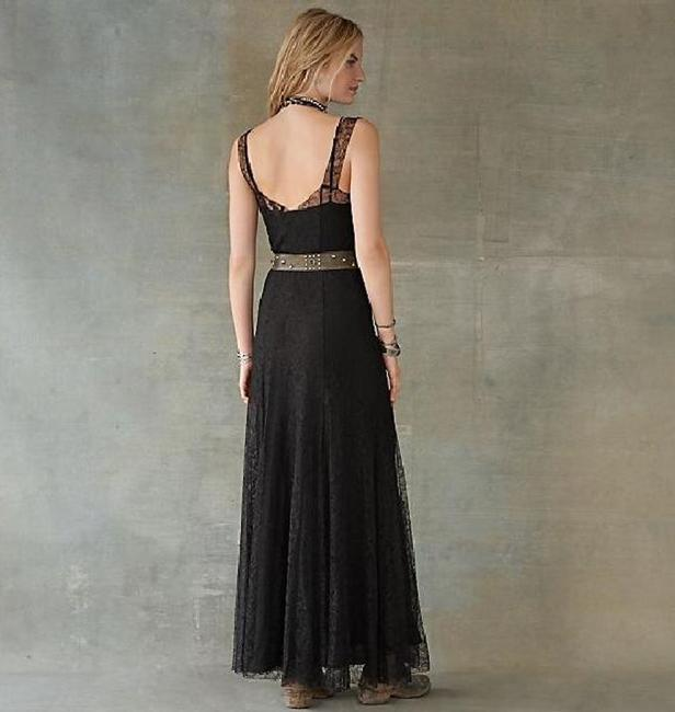 Ralph Lauren Lace Cotton Silk Evening Slip Dress