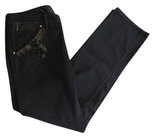 Replay Sequin Straight Leg Jeans