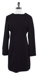 Burberry short dress Black Wool Long Sleeve on Tradesy