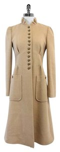 Rebecca Taylor Tan Wool Blend Coat