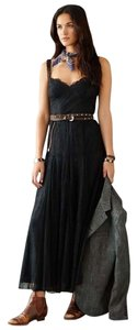 Ralph Lauren Lace Silk Evening Chiffon Dress