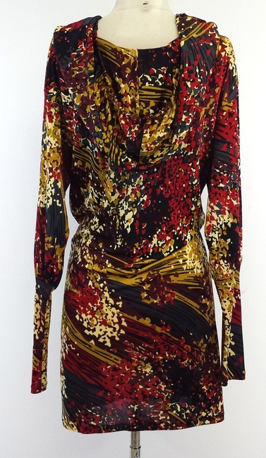 Missoni short dress Multi Color Print Long Sleeve on Tradesy