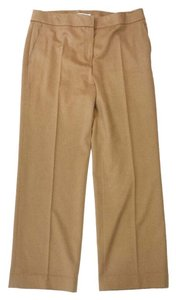 Max Mara Pescia Tan Camel Hair Trouser Pants