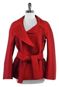 Dolce&Gabbana Red Silk Jacket