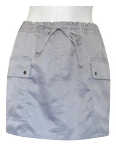 Express Mini Skirt Silver/Grey