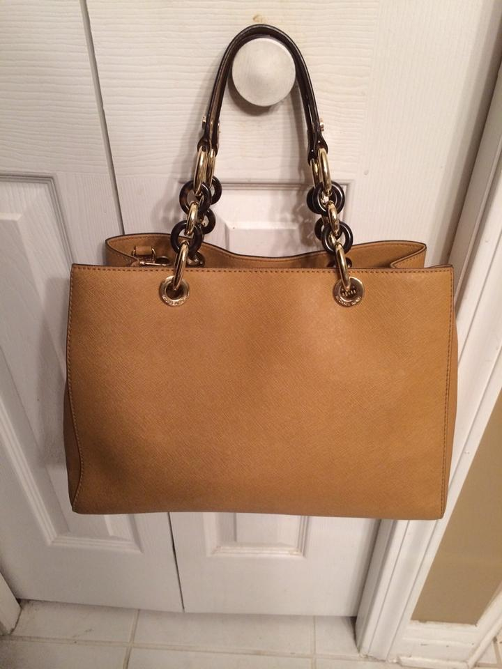Coupon Code For Michael Kors Cynthia Totes - Bags Michael Kors Tote Bag Tan 896612