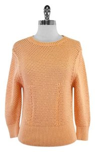 Jill Stuart Coral Cotton Blend Sweater