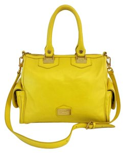 Marc by Marc Jacobs Yellow Leather Cross Body Bag