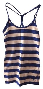 Abercrombie & Fitch Top Blue and White stripe