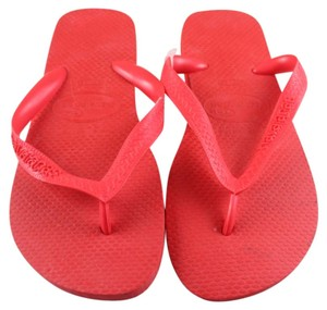 Havaianas Scarlet Red Flats