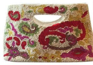 Moyna Cream Multi Clutch