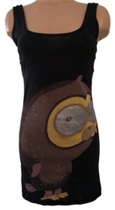 Custo Barcelona Owl Top Black
