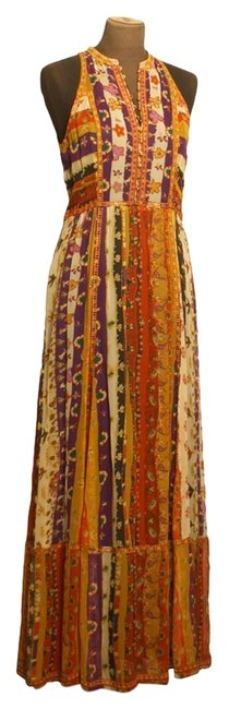 Preload https://img-static.tradesy.com/item/8970193/diane-von-furstenberg-orange-purple-mustard-burnt-red-dvf-basmati-printed-silk-maxi-d1415004m10-long-0-2-650-650.jpg