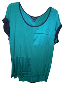 Lucky Brand Top Green and Blue