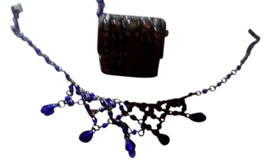 Preload https://img-static.tradesy.com/item/8970400/dark-blue-queen-guinvere-medival-romantic-and-hook-earrings-necklace-0-1-540-540.jpg