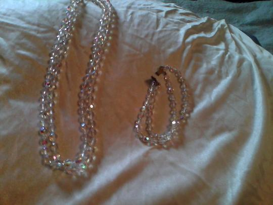 Other Austrian Crystal necklace and bracelet