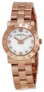 Marc Jacobs Marc Jacobs Mini Amy Rose Gold-tone Stainless Steel Ladies Watch
