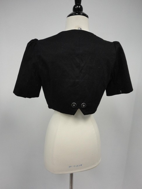 Anthropologie Black Jacket