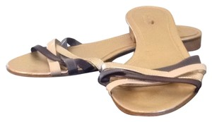 J.Crew Strappy Gold Tan Multiple Sandals