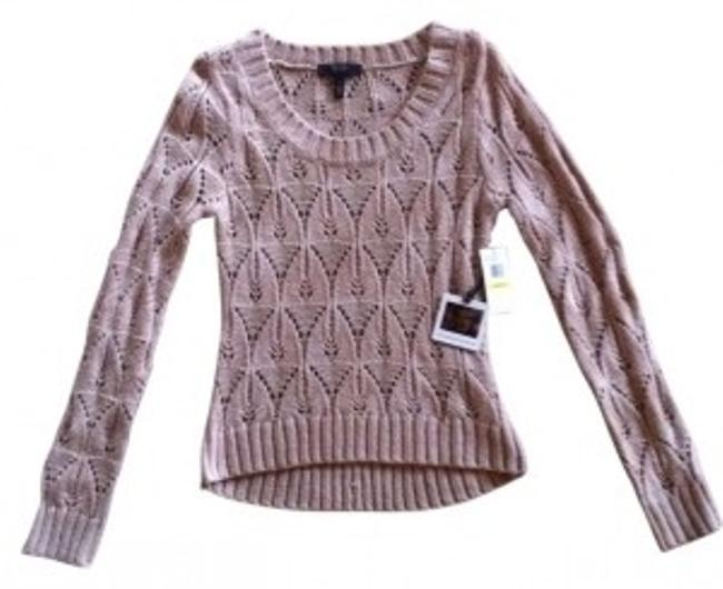 Preload https://item4.tradesy.com/images/jessica-simpson-light-tan-hi-lo-long-sleeve-sweaterpullover-size-8-m-8973-0-0.jpg?width=400&height=650